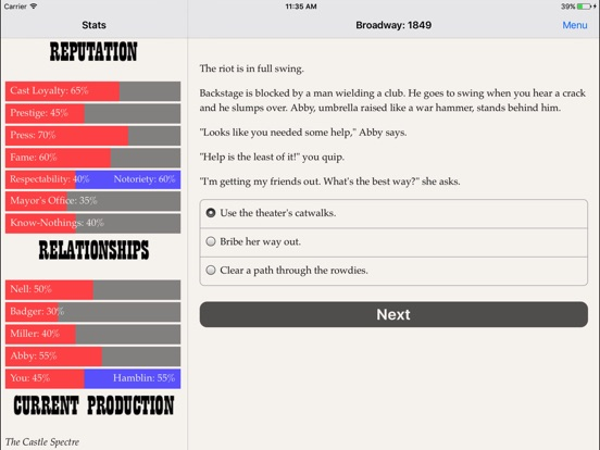 Broadway: 1849 screenshot 9