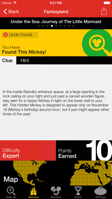 Hidden Mickeys: Disney World Screenshot