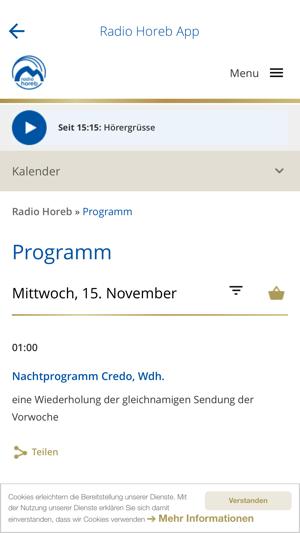 radio horeb app