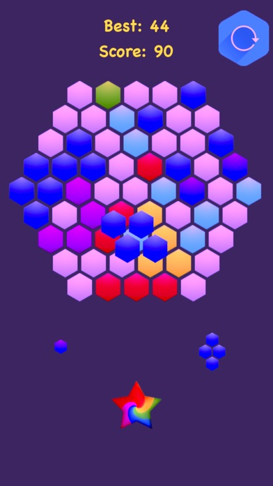 Hexagonal Merge : Premium screenshot 4