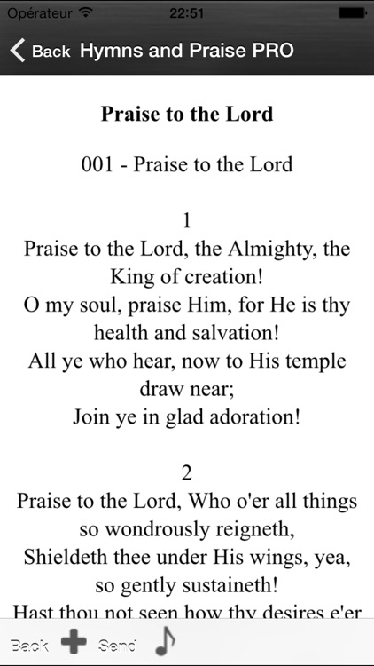 Hymns and Praise Pro screenshot-2