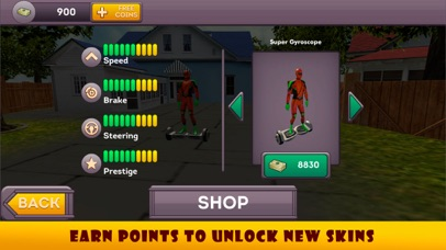 Superhero Hoverboard Pizza Delivery screenshot three
