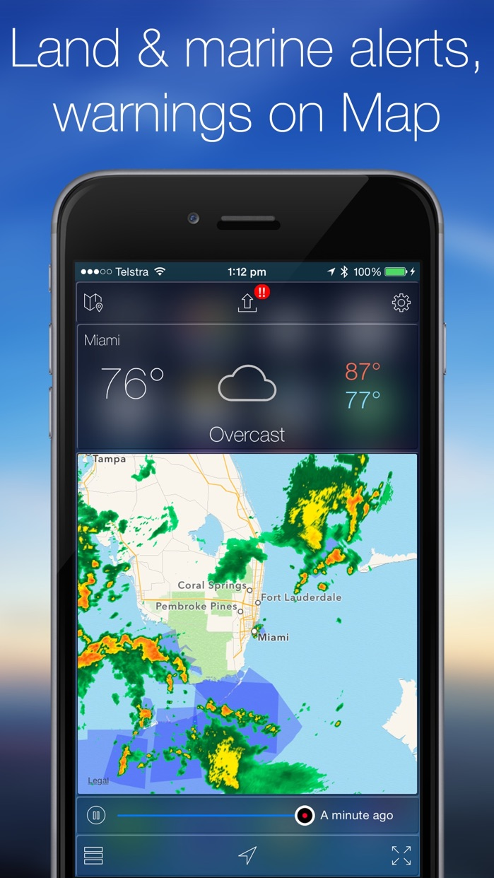 Weather Radar Map Live Screenshot