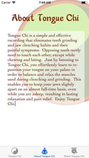 Tongue Chi TMJ Relief