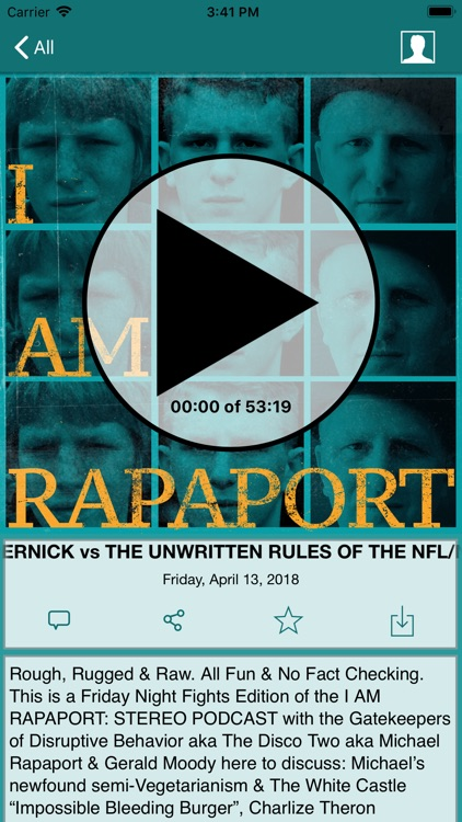 I AM RAPAPORT screenshot-2