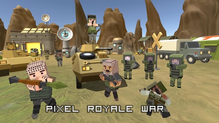 Pixel royale war 3D