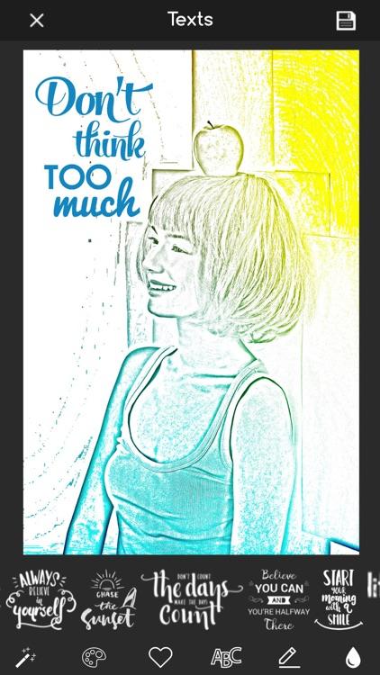 Pencil Sketch - Photo Cartoon