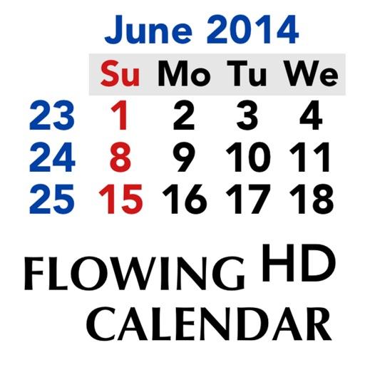 Flowing Calendar HD Lt