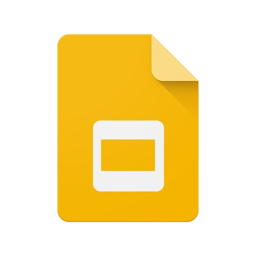 Google Slides application logo