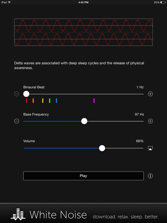 Binaural Beats Generator + screenshot 6