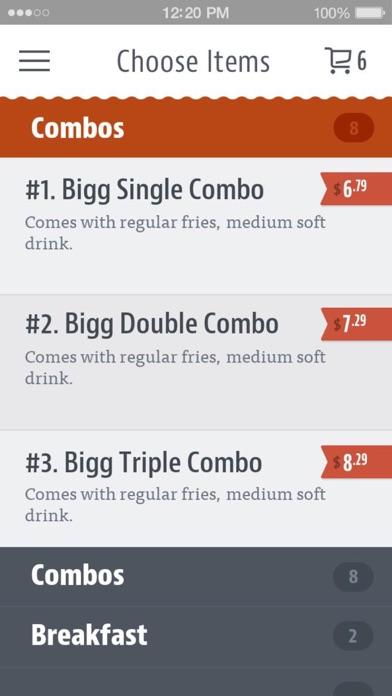 Eat Bigg Burger screenshot 3