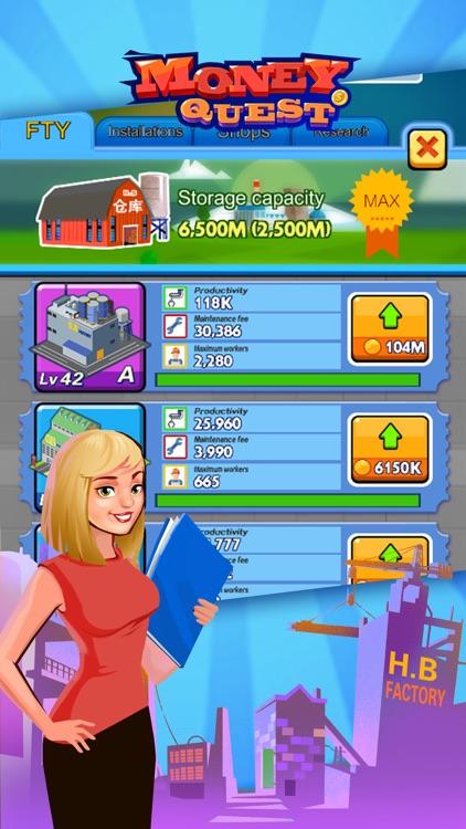Money Quest-Company President screenshot-3