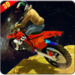 Expert Space Bike Ride 3D