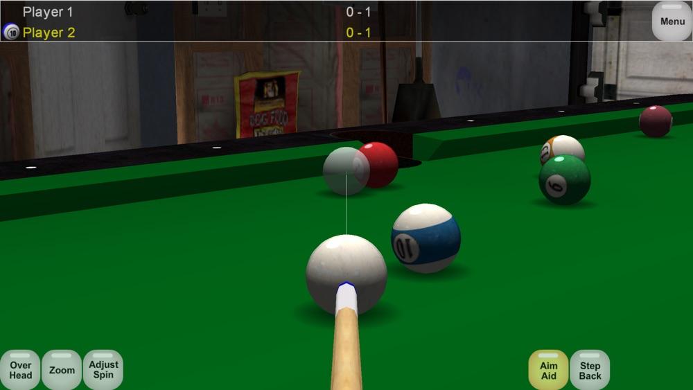 Virtual Pool Lite Cheat Codes