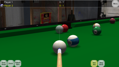 Virtual Pool Lite screenshot one