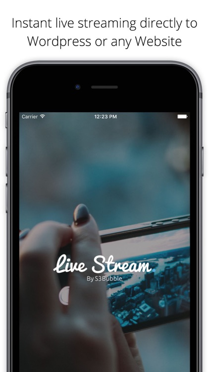S3Bubble - Live Streaming