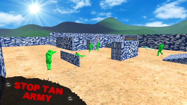 Toy World War - Army Men Fight screenshot-4