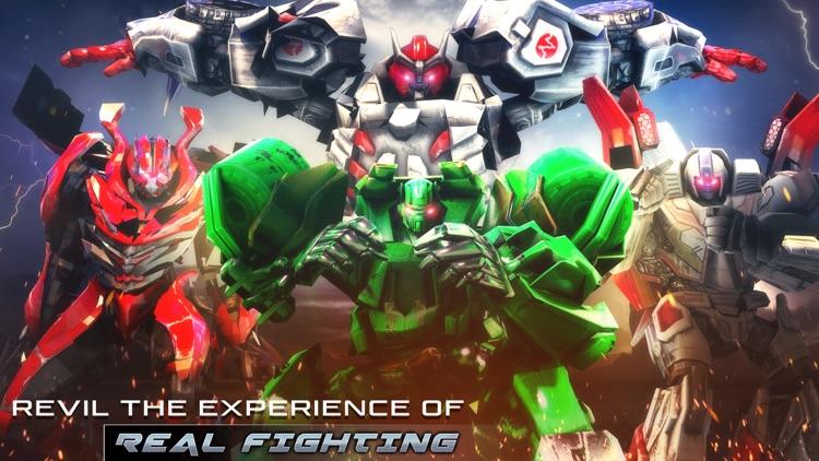 Robot Fighting Ring War Hero screenshot-3