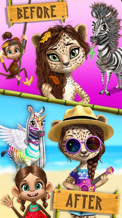 Jungle Animal Hair Salon 2 screenshot-6