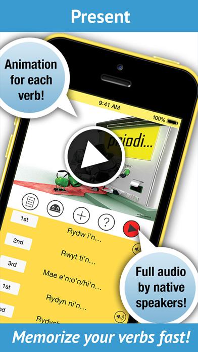 Learn Welsh Verbs - LearnBots screenshot one