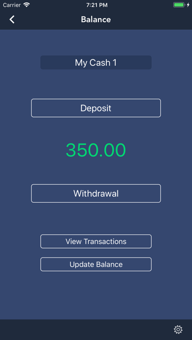 CashTracker screenshot one