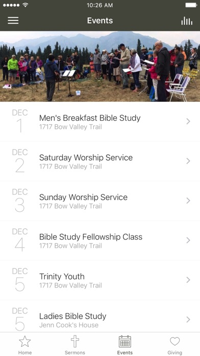 Trinity Bible Church | Canmore screenshot 3