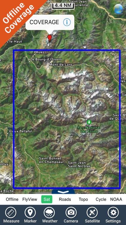 Ecrins National Park – GPS Map Navigator screenshot-4