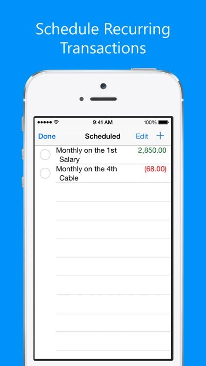 Balance My Checkbook screenshot-3