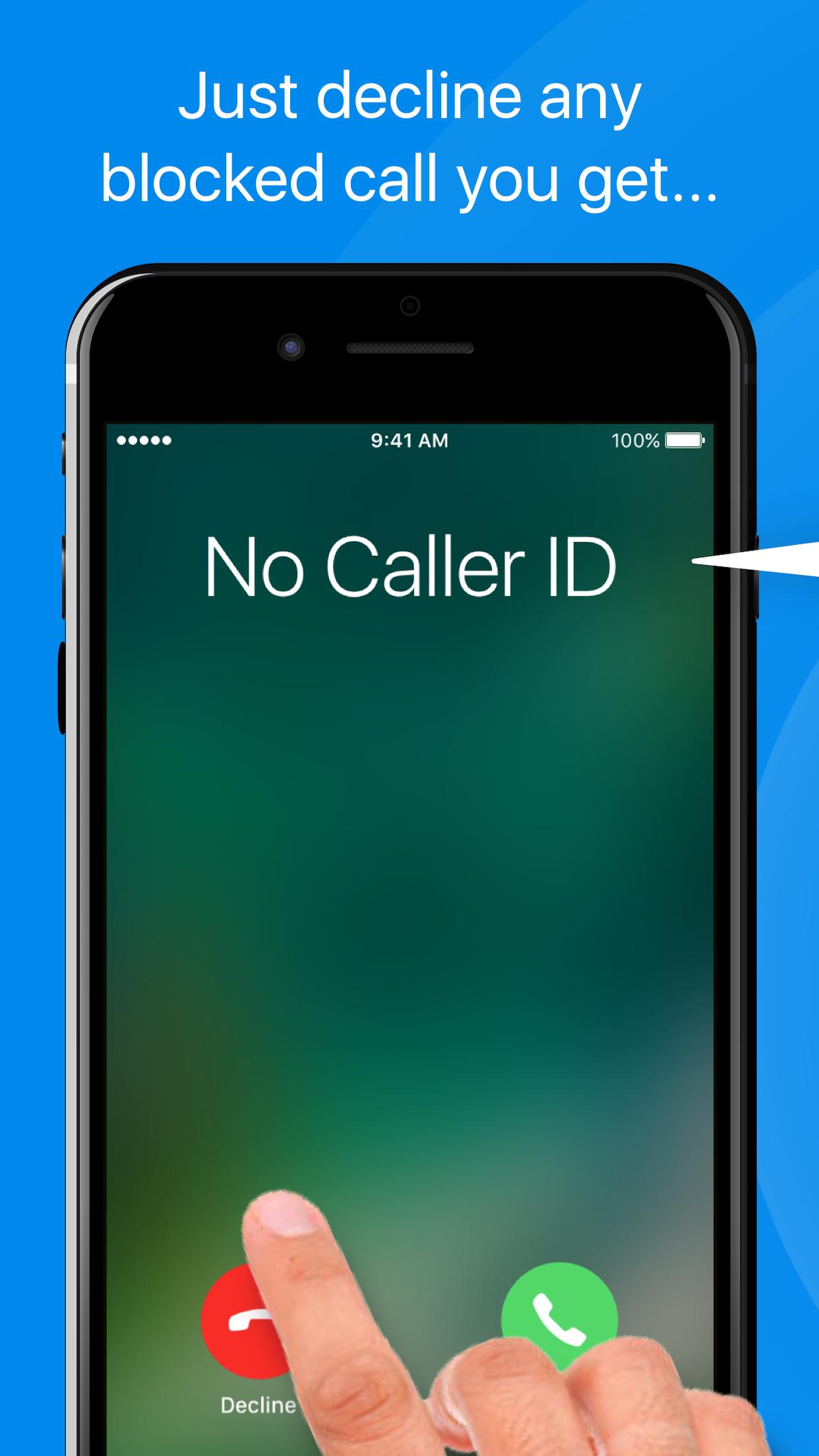 TrapCall: Reveal No Caller ID Screenshot