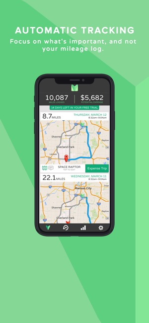 miles automatic mileage log on the app store