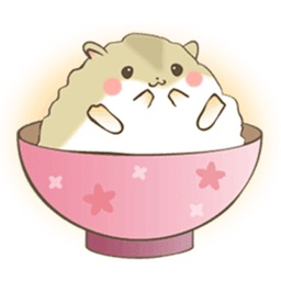 Adorable Fat Hamster Sticker