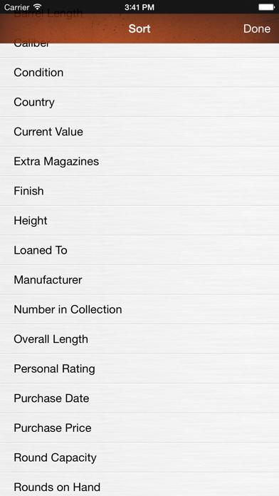 Gun Firearm Ammo Database screenshot four