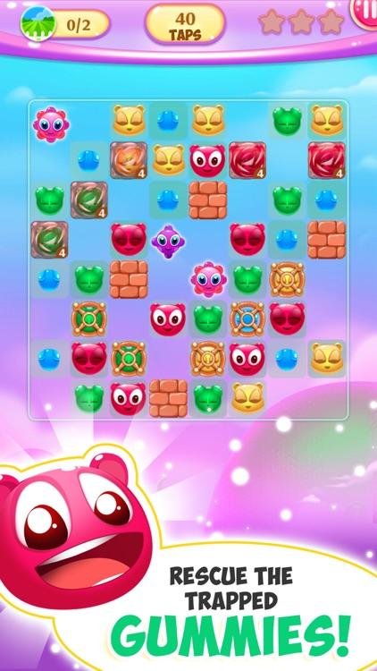 Gummy Pop Chain Reaction Games screenshot-3
