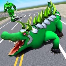 Activities of Robot Crocodile Attack