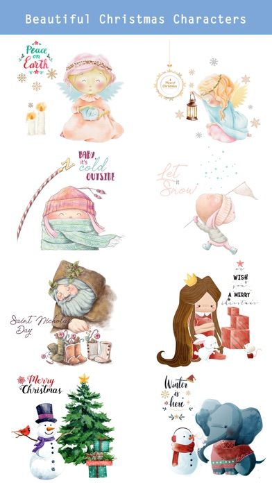 Fairytale Christmas Stickers screenshot 2