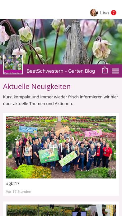 BeetSchwestern - Blog screenshot 1