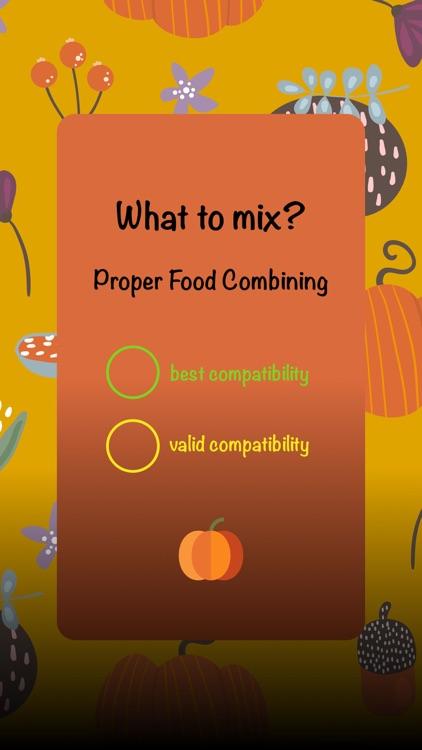 What to mix? : Food Scheme