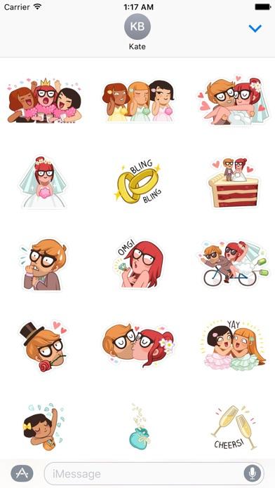 download Happy Wedding Time Sticker apps 2