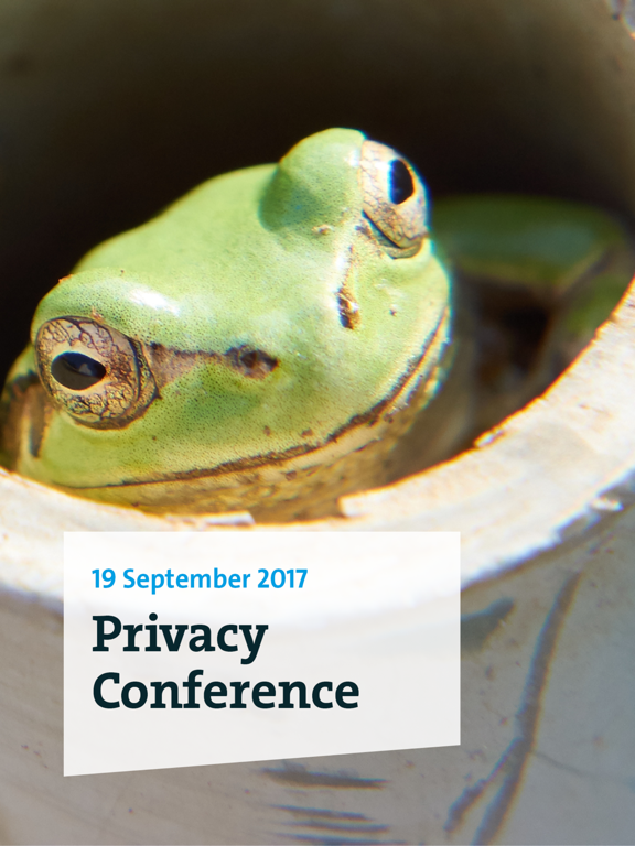 Privacy Conference 2017 screenshot 3