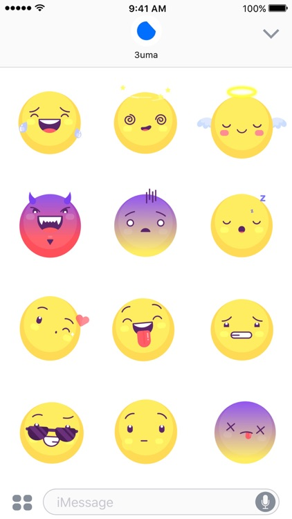 Yellow Emojis - Animated Sticker Keyboard