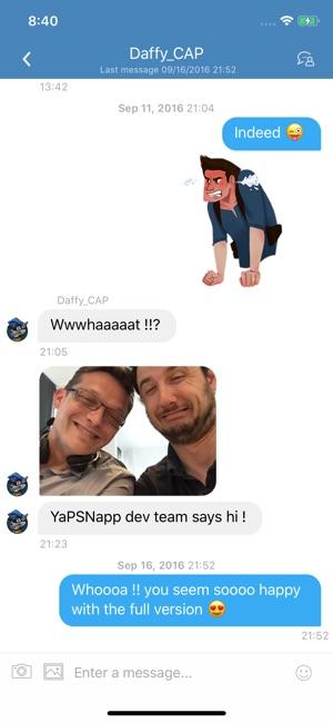 YaPSNapp: PSN App on the App Store