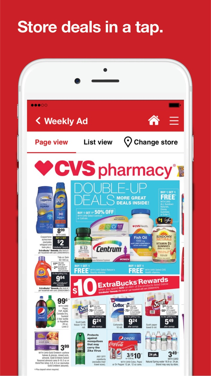 CVS Pharmacy Screenshot