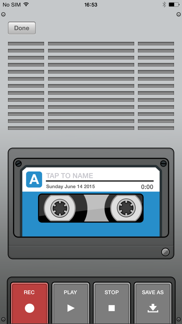 Voice Recorder & Audio Editor Screenshot