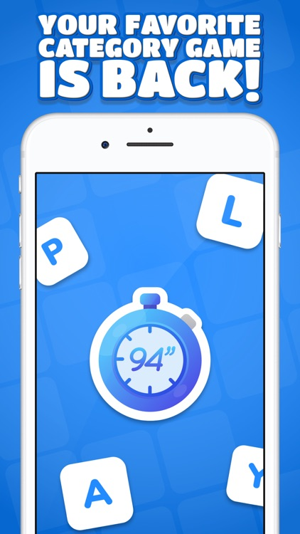 94 Seconds - Categories Game screenshot-7