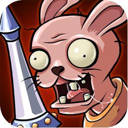Zombies Rabbit vs Sheldon