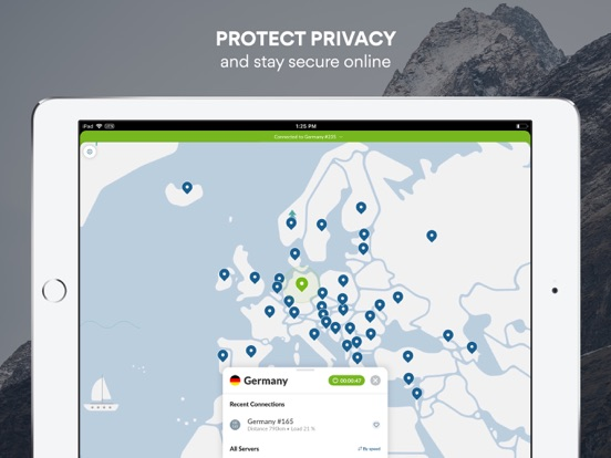 VPN Private & Fast Browsing Screenshots