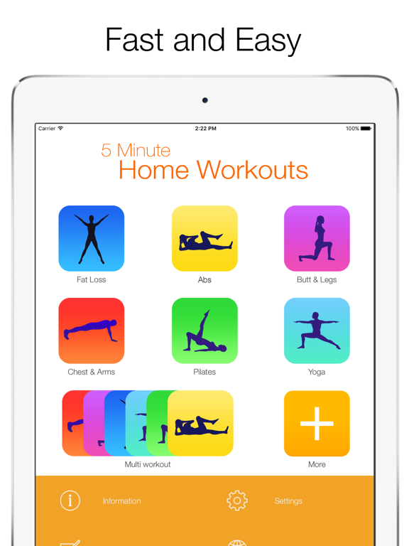 5 Minute Home Workout-ipad-0