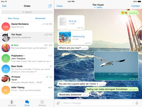 Telegram X Screenshots