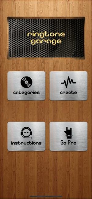Ringtone Garage on the App Store