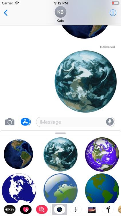 Planet Earth Sticker Pack screenshot-6